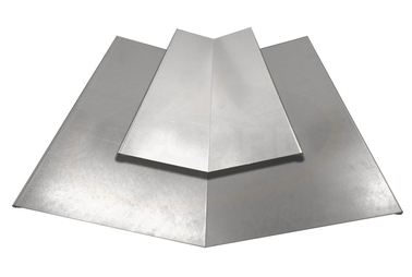 Two Piece Valley Flashing Galvanised