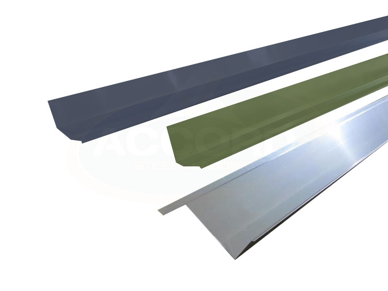 Custom Flashings Accord Steel Cladding