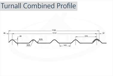 Turnall Combined Profile GRP