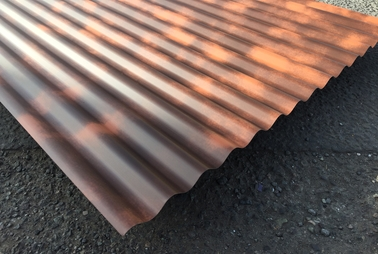 Corrugated Rust Effect Painted Sheets Accord Steel Cladding