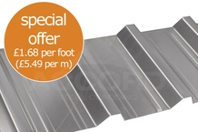 BW32 0.5mm Gauge Box Profile Galvanised Sheets