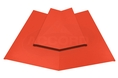 Two Piece Valley Flashing Poppy Red PVC