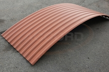 Corten Effect Shepherds Hut Roof Sheets