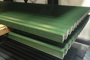 Juniper Green Corrugated 10ft Stock Sheets