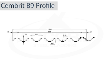 Cembrit B9 Profile