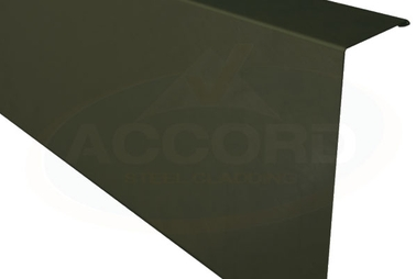 Poly Paint Eaves Flashing - Anthracite