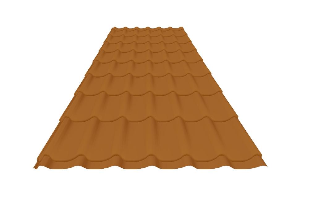 Tile Effect Steel Roof Sheets Wave Tile Accord Steel
