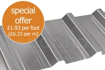 BW32 0.7mm Gauge Box Profile Galvanised Sheets