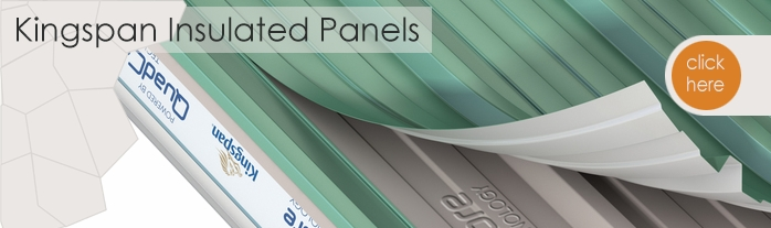 Kingspan KS1000 insulated steel cladding panel range