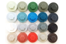 19mm Colour Coded Tek Screw Caps