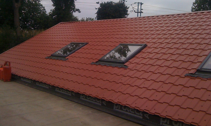 Tile Effect Roof Sheets Brit Tile Accord Steel Cladding