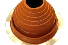 Silicone High Temp Pipe Flashing (75mm to 160mm)