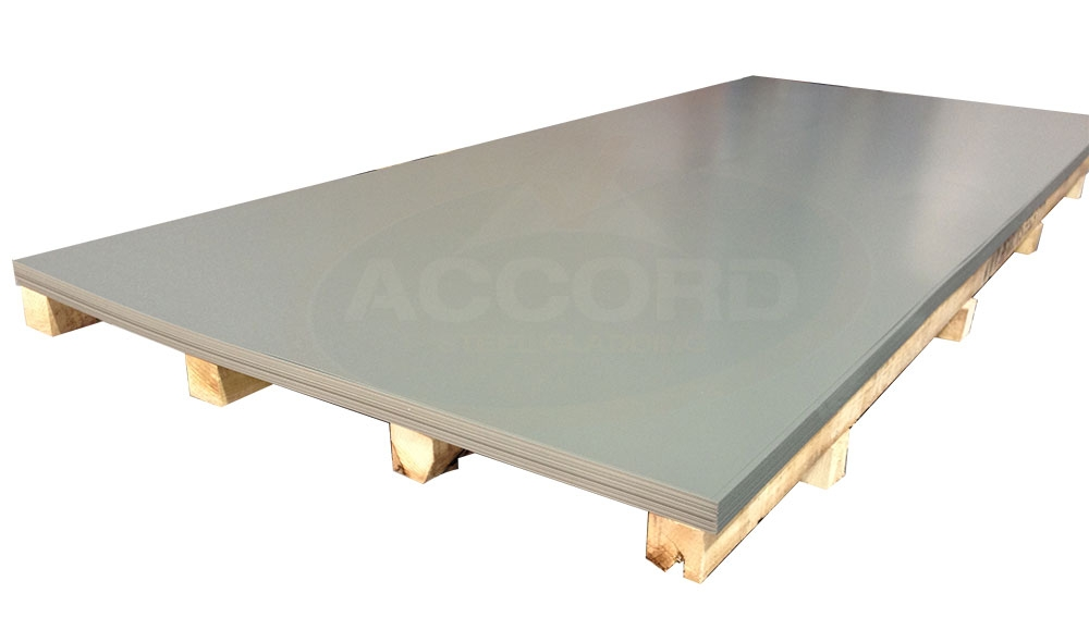 Plastisol Flat Steel Sheets Accord Steel Cladding