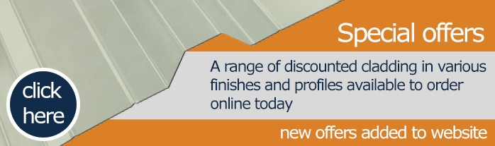 Steel Cladding - Special offers