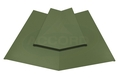 Two Piece Valley Flashing Olive Green PVC