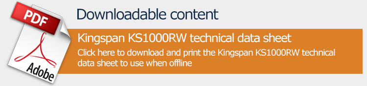 Download Kingspan KS1000RW data sheet