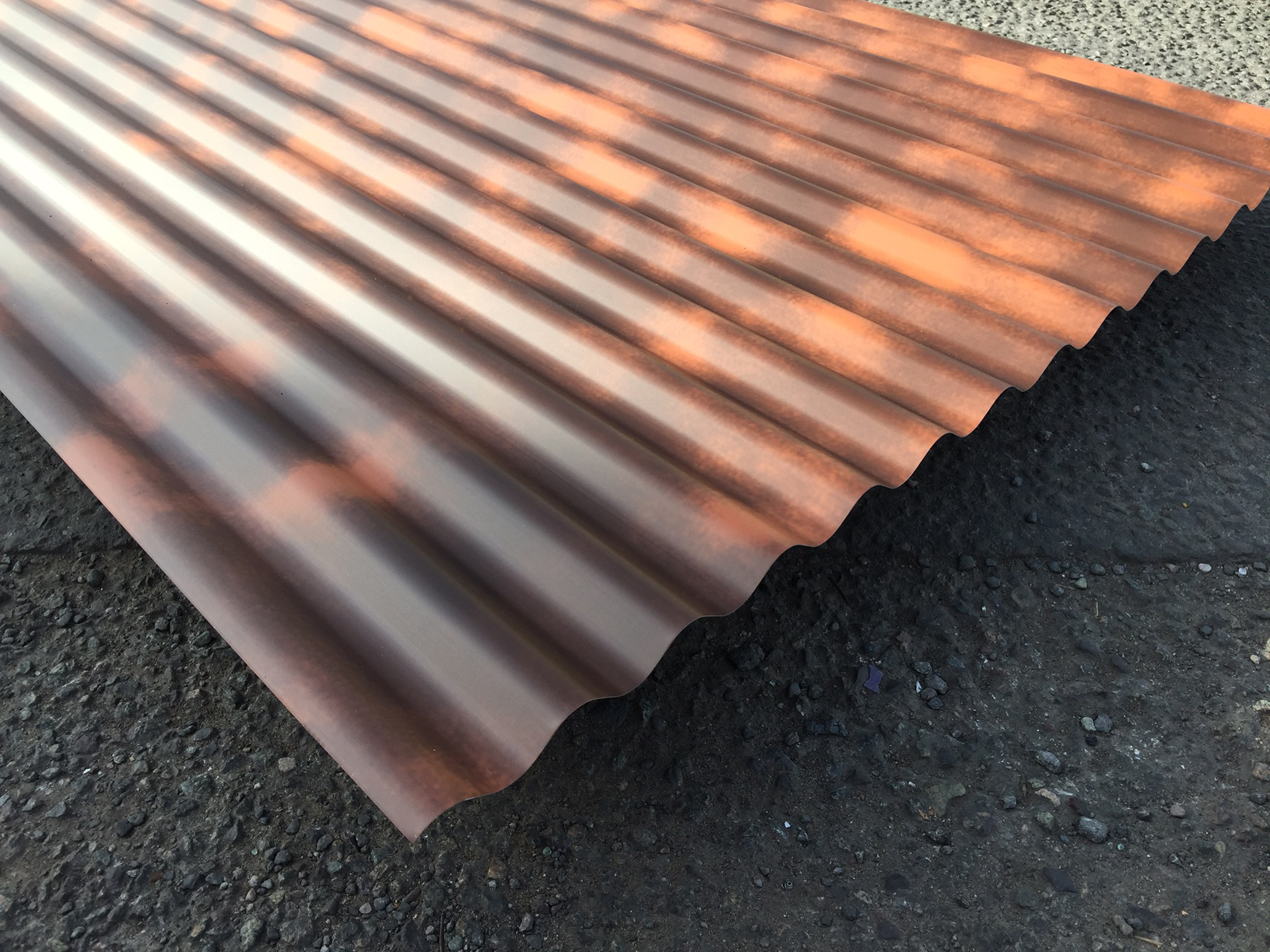 Corrugated Rust Effect Painted Sheets | Accord Steel Cladding