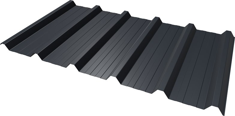 Van Dyke Brown Box Profile Roofing Sheets Metal//Steel Roof Cladding Sheets