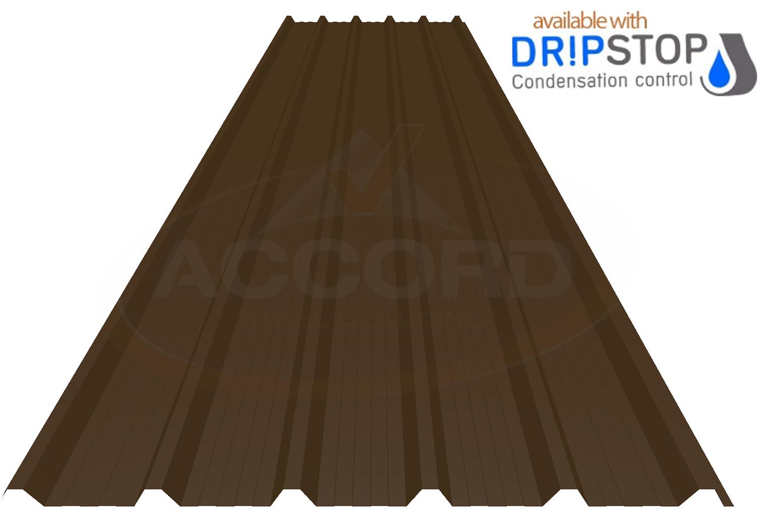Slate Dark Grey Box Profile Corrugated Metal Steel Roof Cladding Sheets