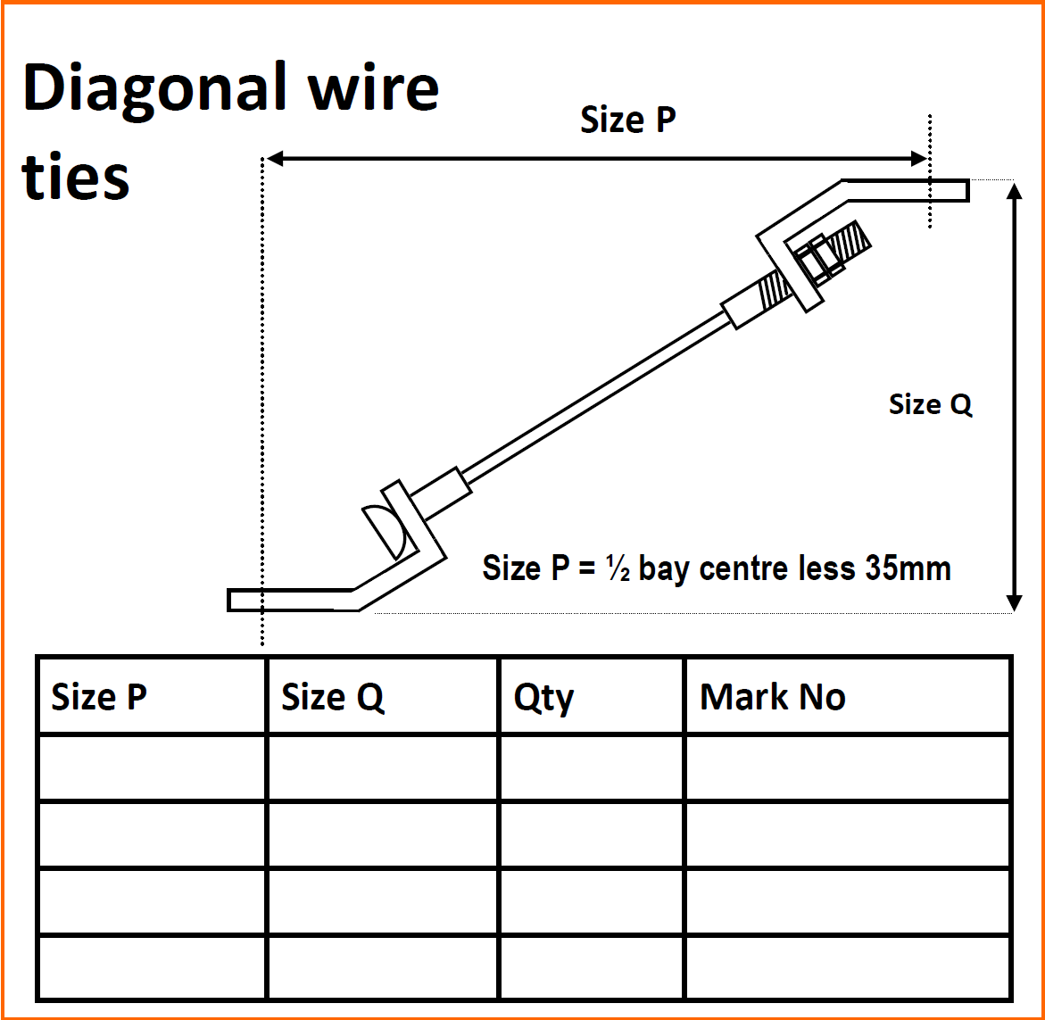 Tie Wire Dims